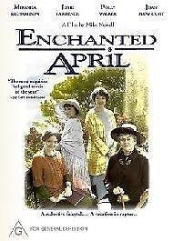 Enchanted April - DVD - Region 4 - EX RENTAL - FREE POST