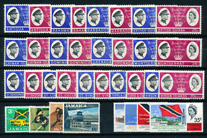 1966-ROYAL-CARIBBEAN-VISIT-COMPLETE-OMNIBUS-SET-15-COUNTRIES-MNH