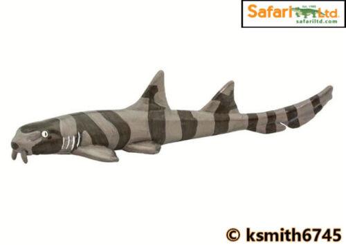 Safari Bambou Shark solide Jouet en plastique Poisson sauvage mer animaux marins * NOUVEAU *
