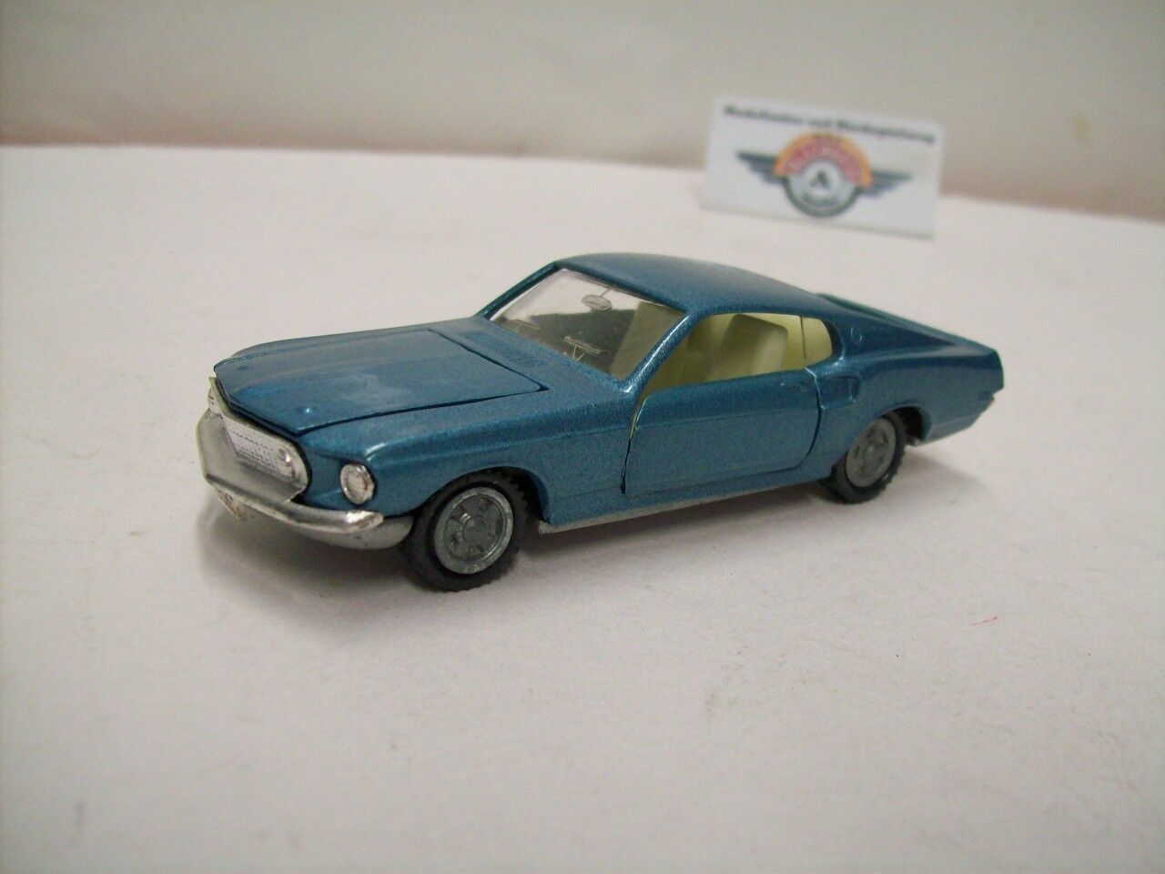 Ford Mustang, 1969, bluee metallic, Intercars 1 43 (Made in Spain), Rarität