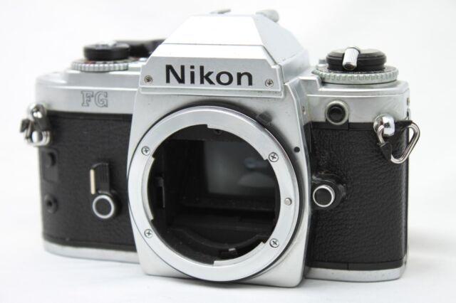 Nikon FG 35mm SLR Film Camera Body Only *Working* #Q028f