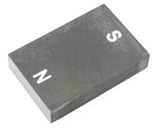 "Alnico 5 Bar Magnets Size 1.5"" x 1"" x 0.3"" Lot of 1 or 3"