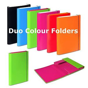 Image is loading A4-Document-Folders-Elastic-Band-Storage-Files-Foolscap-  sc 1 st  eBay & A4 Document Folders Elastic Band Storage Files Foolscap Paper Hard ...