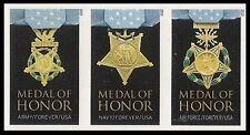 US 4988b Medal of Honor Vietnam War imperf NDC block set MNH 2015