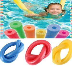 Fun Swimming Swim Pool Noodle Water Float Aid Woggle Noodles Hollow Flexible