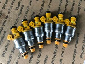 JEEP 4.0L BOSCH TYPE III FUEL INJECTORS SET 6 19LB EV1 UPGRADE!