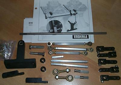Throttle Car Parts >> Genuine Dual Carb Linkage Kit Chevy Enderle Edelbrock ...