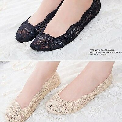 MYAFASHION Women Cute Low Cut Invisible Silk Cotton Crystal No Show Socks 1 Pair