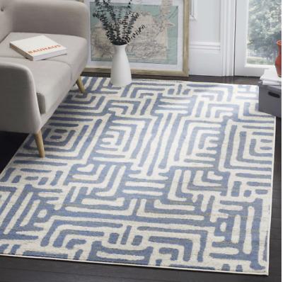 Safavieh Blue Area Rug 9 X 12 Carpet