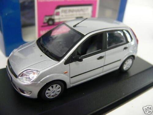 1//43 Minichamps Ford Fiesta 2002 silber SONDERPREIS 19,99 € statt 34,95 €