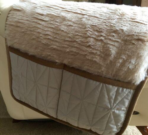 assise avec gesteppten Poches Latérales 100/% laine Flor Fauteuil de veille