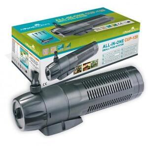 Pond filter 9w uv steriliser fountain pump all in one for Best all in one pond pump and filter