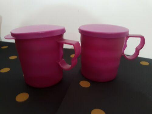 Lot 2 Mugs Flash  Aubergine Tupperware Neuf