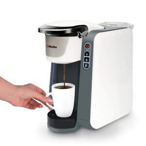 Mueller Rapid Brew Single Serve K Cup Coffee Maker Machine With Five