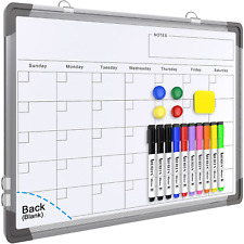 Small Monthly Calendar Dry Erase Whiteboard For Wall 16 X 12 Magnetic Dry Era
