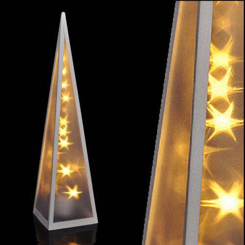 Hologramm Pyramide 3D Projektor LED Leuchtpyramide Stern Effekt Lichtpyramide