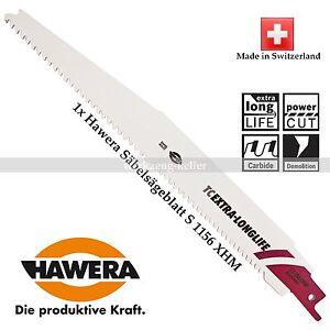 5-175mm 1xHawera Säbelsägeblatt S1156XHM EXTRA-LONGLIFE Holz mit Stahlelementen