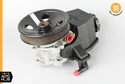 A-Premium Power Steering Pump with Reservoir and Pulley Replacement for 2002 Mercedes-Benz C230 W203 Series