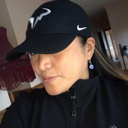 c881614876896 Nike Court Rafael Nadal Aerobill H86 Rafa Tennis Cap Hat Black White  850666-010 for sale online
