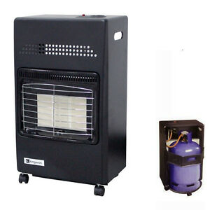 4 2kw portable workshop gas fire cabinet heater calor lpg for How much to install a garage heater