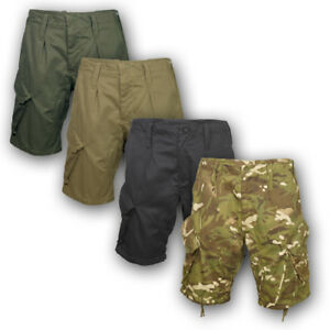BRITISH-ARMY-STYLE-PCS-ACU-SHORTS-COMBAT-ISSUE-CAMO-AIRSOFT-CARGO