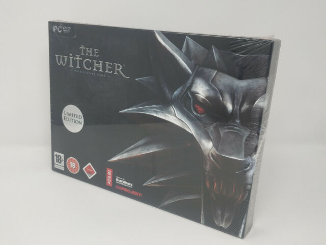 The Witcher Limited Collectors Edition New & Sealed, 2007 PC