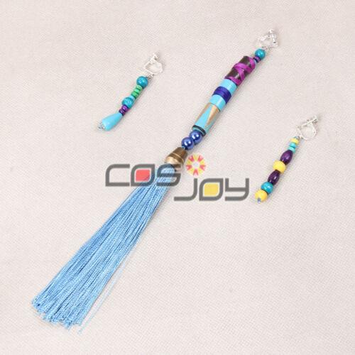 1202 Cosjoy Final Fantasy X Yuna/'s Earrings Cosplay Prop