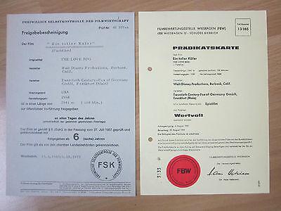 LiebenswüRdig Freigabebescheinigung Wa 1979 Prädikatskarte Ein Toller Käfer