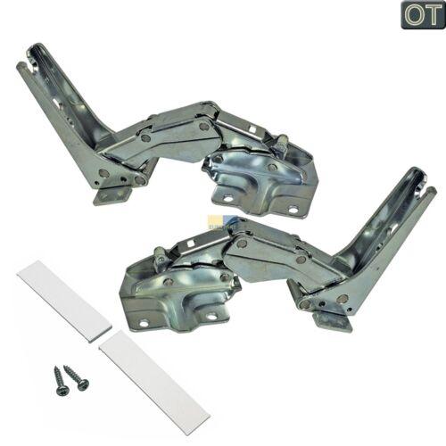 ORIGINAL Scharnier Türscharnier Set Kühlschrank 00481147 Bosch Siemens Neff