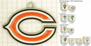 NFL-team-logo-decorative-fobs-NFC-North-various-designs-amp-keychain-options