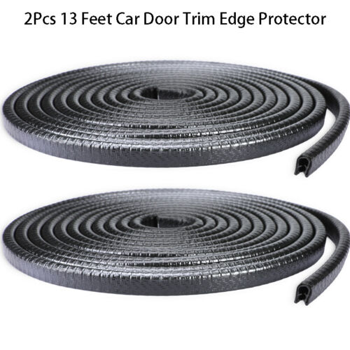 26feet Car Rubber Seal Trim Molding Strip Door Edge Lock Protector All Weather