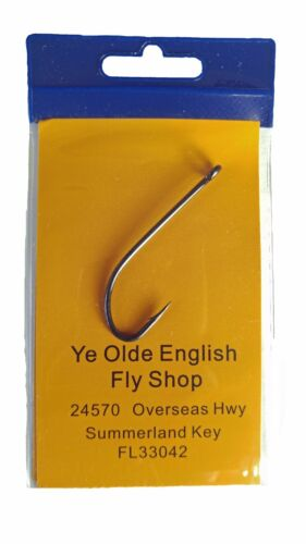 OLDE FLY SHOP XPOINT LIMERICK SALTWATER FLY TYING HOOKS LONG SHANK