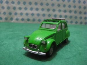 Vintage-CITROEN-2CV-6-Ouvert-1-43-Solido-Ref-56