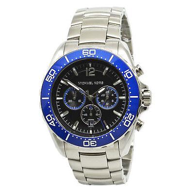 Michael Kors Windward MK8422 Black Dial Stainless Steel Men's Watch