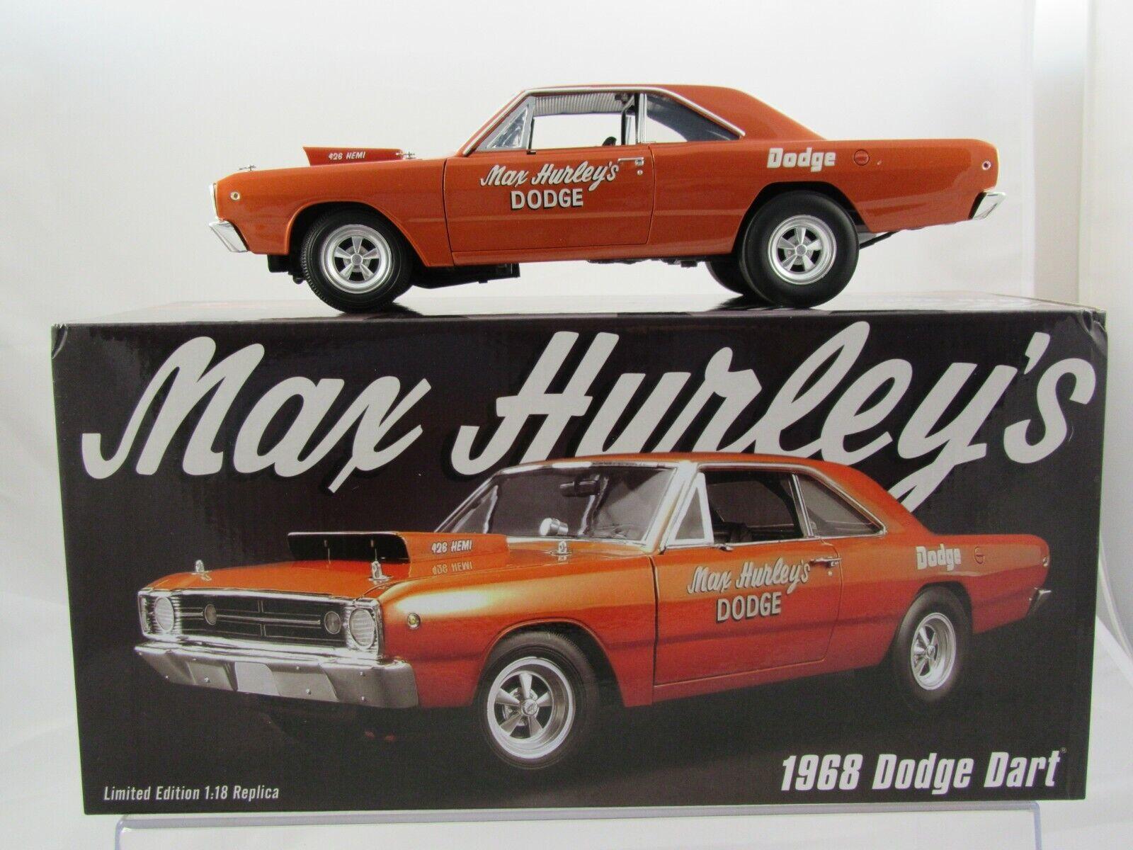 Acme 1968 Dodge HEMI Dkonst - Max Hurley s Dodge A180601