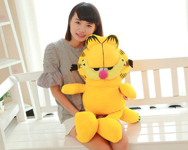 40  Giant Jumbo Garfield&Odie Cat Cat Cat  Plush soft Toy Stuffed Animals Doll gift new c6d192