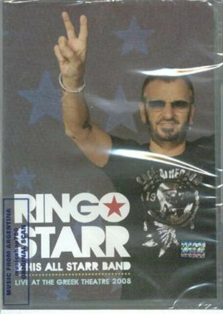 DVD RINGO STARR & HIS ALL STARR BAND LIVE AT THE GREEK THEATRE 2008 SEALED NEW