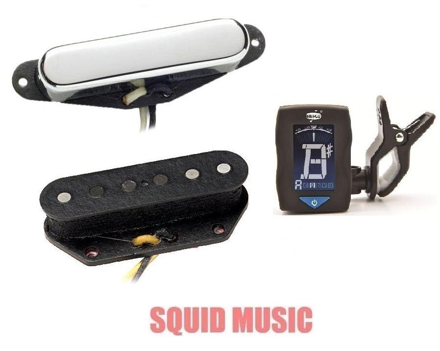 Seymour Duncan STL52-1 & STR52-1 FIVE-TWO Fender Telecaster Tele Set ( TUNER )
