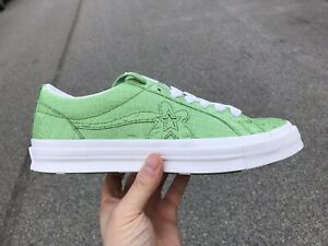 Details about Converse x Golf Le Fleur One Star Gator Green Tyler Size 9  164/333 Golf Wang