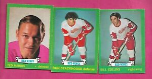 1973-74-OPC-DETROIT-RED-WINGS-CARD-LOT-INV-C2888