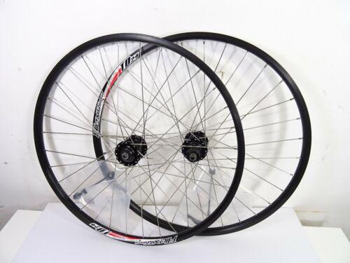 """Skewer QR Disc Hub Alex Rims TD24 26/"""" MTB Wheelset Shimano Free Hub"""