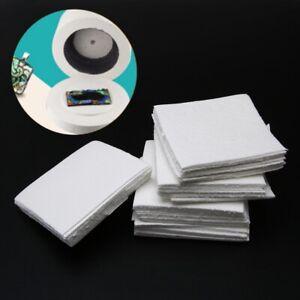 50-hojas-de-papel-Estera-Para-Microondas-Horno-de-fusion-de-vidrio-para-vidrio-joyas-8cm-Set