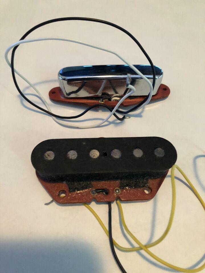 Guitar Pickupper/Pickups, Fender 1982 Red Bobbin
