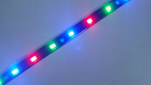 FORD-RGB-12-034-5050-SMD-LED-STRIPS-NEW-2-STRIPS-TOTAL-OF-24-LEDS