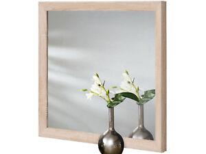 Bagno Legno Bianco : Specchio da parete bagno cm ingresso mdf legno bianco
