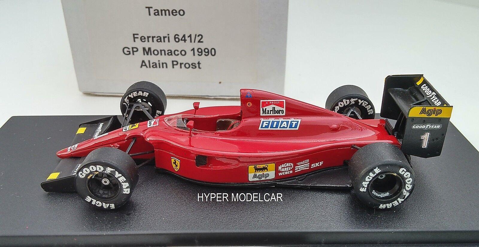TAMEO KIT 1 43 F1 Ferrari 641 2 Gp Monaco 1992 A. Prost