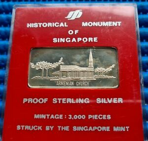 Historical-Monument-of-Singapore-Armenian-Church-in-Proof-Sterling-Silver