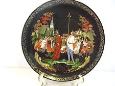 """RUSSIAN LEGENDS """" THE PRIEST AND HIS SERVANT BALDA """" COLLECTOR PLATE"""