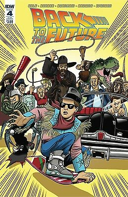 Vault 35 BACK TO THE FUTURE CITIZEN BROWN #1 IDW NM Comic