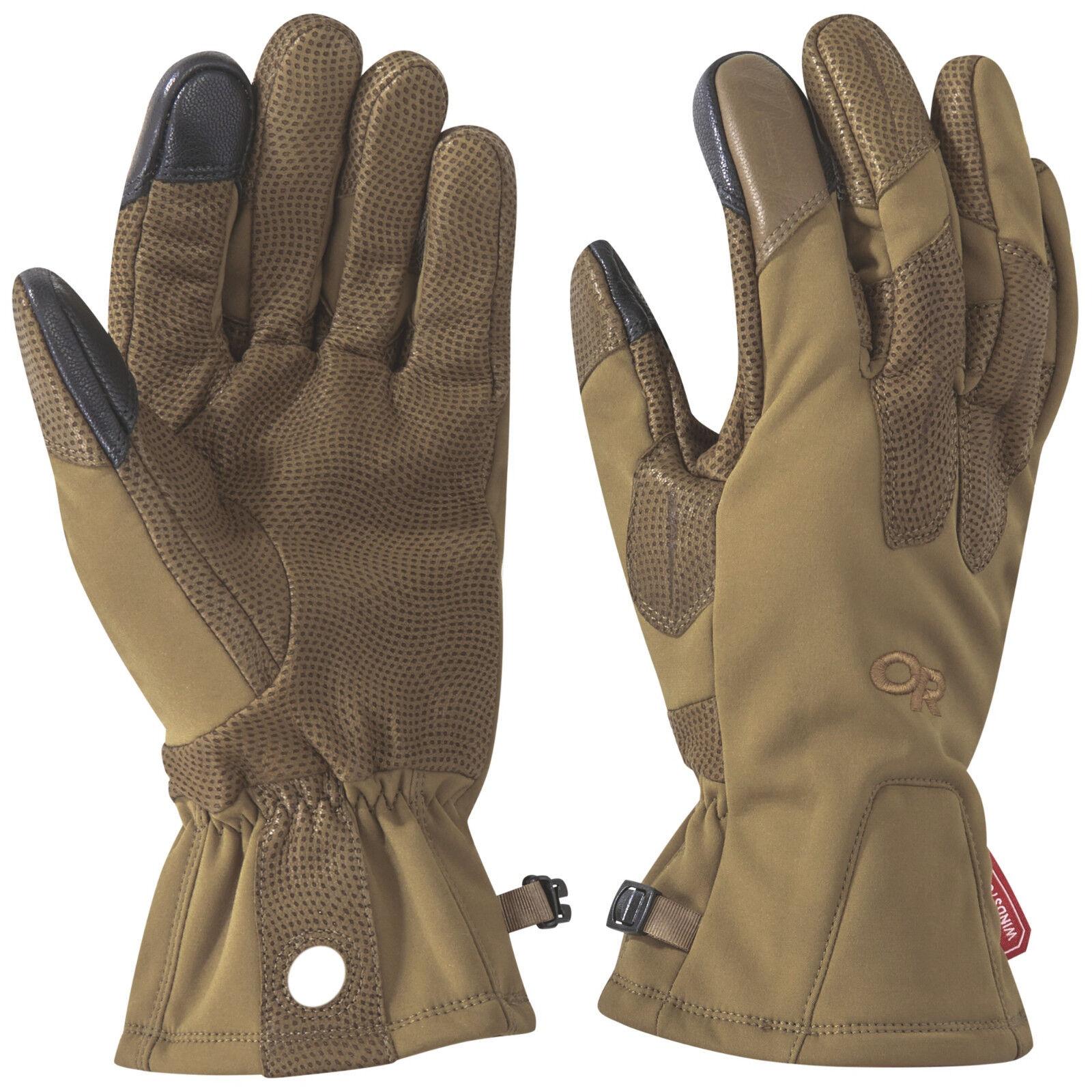 Outdoor Research Research Research Paradigma Sensor Handschuhe Kojote Braun    Zu verkaufen  511045